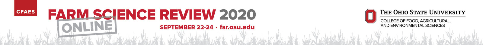 Farm Science Review 2020 logo